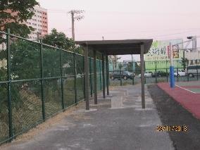 商品:綠色菱形網圍籬(藍球場)