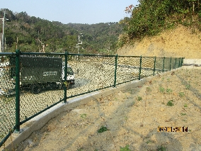 商品:綠色菱形網圍籬(農地)