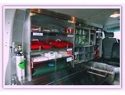 仁光救護車車內設備