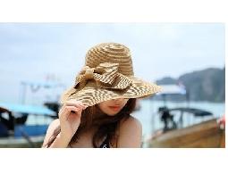 防曬大簷帽子 可折疊沙灘帽遮陽帽
