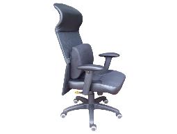 [椅達人] 1532SGA 高背鐵框網布椅 含護腰墊