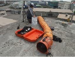 水塔水池清洗依局限空間預防作業施工及特殊化學清潔