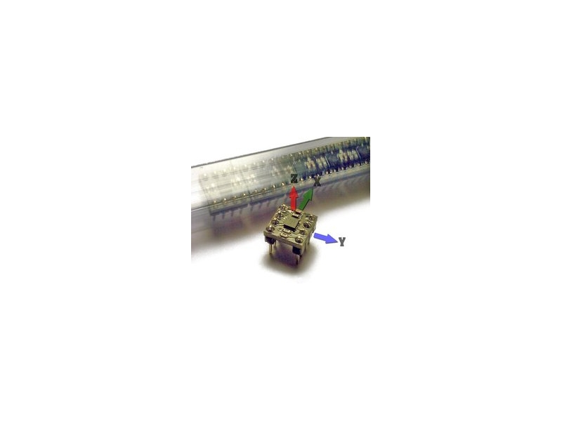 MMA7660FCR1 加速度計模組 DIP-8 尺寸 超方便