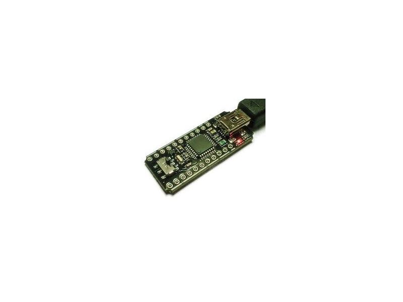 USB 迷你DAQ ADC IO PWM SPI I2C UART DS18B20