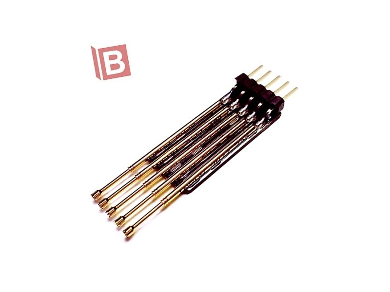 5PIN 單排 排針 彈簧針 測試針 轉接板 microchip pickit2 pick