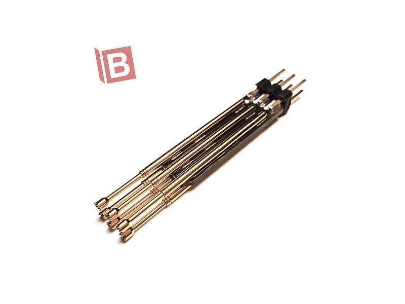 6PIN 雙排 排針 彈簧針 測試針 轉接板 microchip atmel avr ar