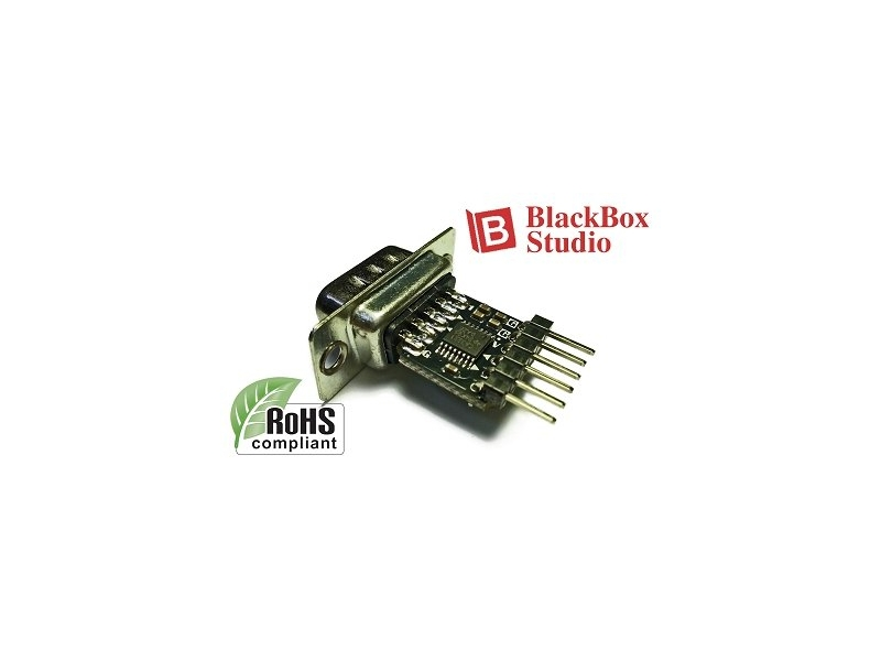 UART TTL to RS232 公頭 轉接板 3V~5V 1Mbps 直用FTDI B