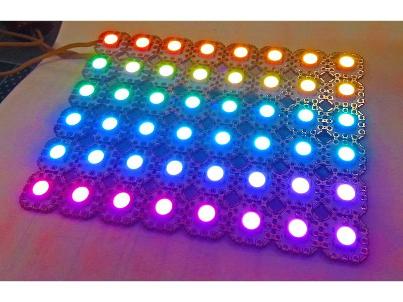 全彩 RGB LED像素模組 任意拚裝組合 WS2813 WS2812B WS2812 W