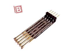 5PIN 單排 排針 彈簧針 測試針 轉接板 microch