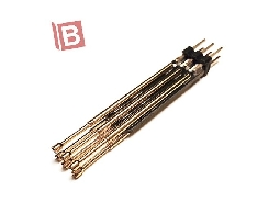 6PIN 雙排 排針 彈簧針 測試針 轉接板 microch