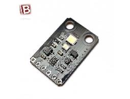 最新 TCS34725 I2C介面 內置紅外線濾光片 帶LED燈 顏色感測模組 取代 TC