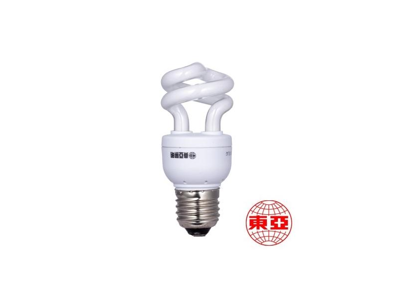 東亞 螺旋燈泡 T2-5W