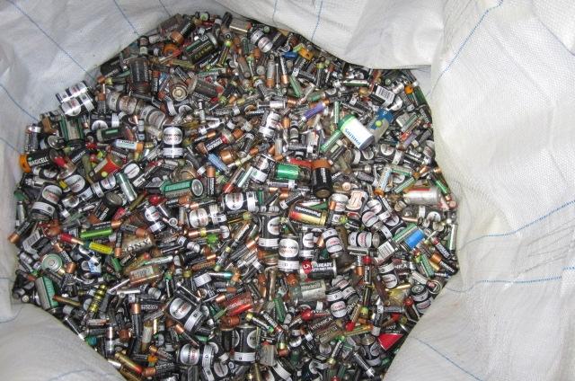 回收項目乾電池