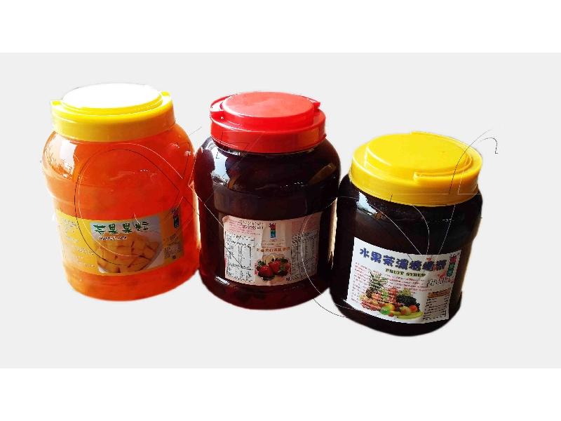 新鮮氏芒果顆粒4.2KG/罐