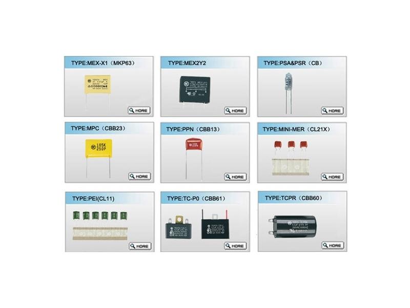電子用薄膜電容器 MEX-X1/X2
