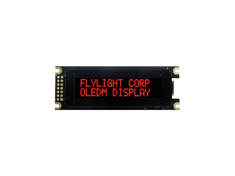 翼光科技 1602D  紅光 OLED 顯示器