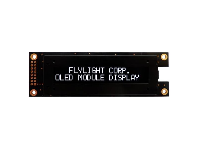 翼光科技 2002A  白光 OLED 顯示器