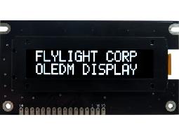 翼光科技 1602A 白光 OLED顯示器