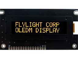 翼光科技 1602A 黃光 OLED顯示器
