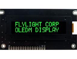 翼光科技 1602A 綠光 OLED顯示器