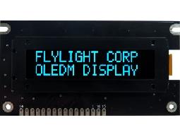 翼光科技 1602A 藍光 OLED 顯示器