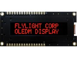 翼光科技 1602B  紅光 OLED 顯示器