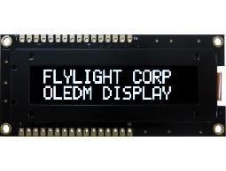 翼光科技 1602B 白光 OLED 顯示器
