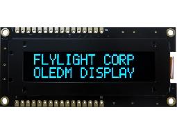 翼光科技 1602B 藍光 OLED 顯示器