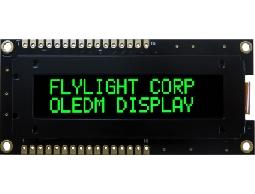 翼光科技 1602B 綠光 OLED 顯示器