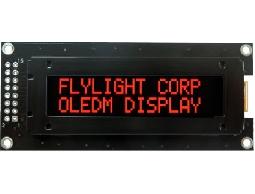 翼光科技 1602C 紅光 OLED 顯示器
