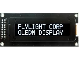 翼光科技 1602C 白光 OLED 顯示器