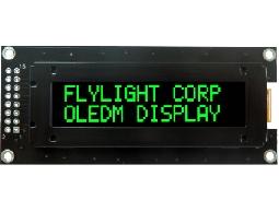 翼光科技 1602C 綠光 OLED 顯示器