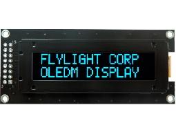翼光科技 1602C 藍光 OLED 顯示器