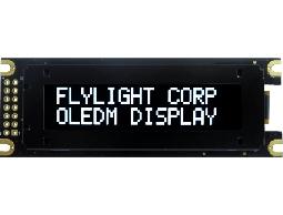 翼光科技 1602D 白光 OLED 顯示器