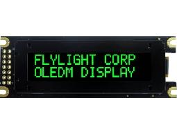 翼光科技 1602D 綠光 OLED 顯示器