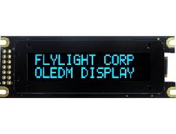 翼光科技 1602D 藍光 OLED 顯示器