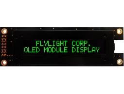 翼光科技 2002A 綠光 OLED 顯示器