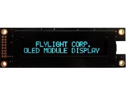 翼光科技 2002A  藍光 OLED 顯示器