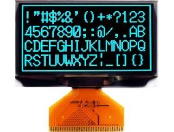 翼光科技 12864A 藍光 OLED 顯示器