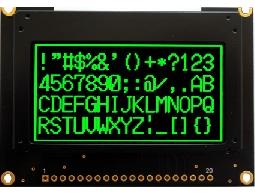翼光科技 12864G 綠光 OLED 顯示器