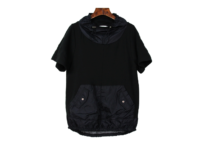 INAN - 前接風衣布拉領衫