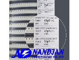 0402包裝 SMD 電容+電感(日本muRata)12+38種規格