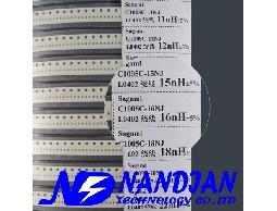 0603包裝 SMD 電感日本Sagami 高頻高Q值41種規格
