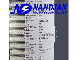 0603包裝 SMD 電感日本Sagami 高頻高Q值21種規格