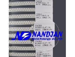 0603包裝 SMD 電阻5% 18種+電容日本muRata(村田電容)17種 精簡本