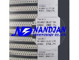 0805包裝 SMD 電阻5% 63種 + 電容日本muRata(村田電容)17種規格 實