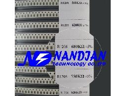 1206包裝 SMD 電阻5% 170種規格