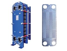 板片清洗、板式熱交換器、板片設計、Danfoss壓力開關等