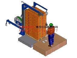 EFB半自動PET帶/PP帶電動穿帶系統