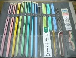 【羅東婉美手工藝、毛線】◎日本clove進口棒針、輪針、勾針、有柄勾針套組◎